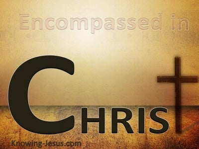 Encompassed In Christ (beige)